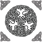 Celtic ornament (yggdrasil) Royalty Free Stock Photography