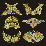Celtic ornamental designs Stock Image