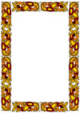 Celtic ornamental frame Stock Photos