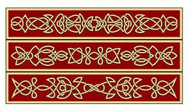 Celtic ornaments Royalty Free Stock Images