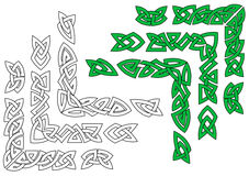 Celtic ornaments and patterns Royalty Free Stock Images