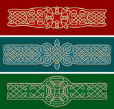 Celtic ornaments and patterns Royalty Free Stock Photos
