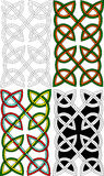 Celtic pair knots Royalty Free Stock Photos