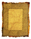 Celtic Parchment. Aged parchment with Celtic Key pattern border Royalty Free Stock Images