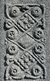 Celtic pattern from old tombstone Stock Photography