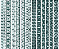 Celtic Patterns Collection Royalty Free Stock Images