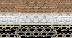 Celtic patterns seamless Stock Images
