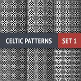 Celtic Patterns Set Stock Photos