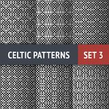 Celtic Patterns Set Stock Image