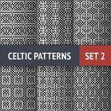 Celtic Patterns Set Royalty Free Stock Images