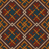 Celtic Plexus Design Pattern. Knitted Wool Seamless Background Royalty Free Stock Photography