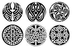 celtic prydnad stock illustrationer