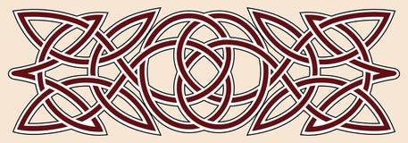 celtic prydnad Arkivbild