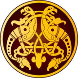 celtic prydnad Royaltyfria Foton