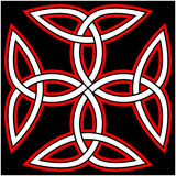 Celtic Quaternary knot Royalty Free Stock Photography