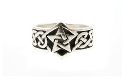 Celtic ring Stock Photography