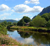 Celtic River Summer Stock Image