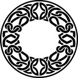Celtic Round Frame Stock Image