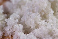Celtic sea salt Royalty Free Stock Images