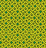 Celtic seamless pattern. Abstract vintage geometri Stock Photo