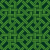 Celtic seamless pattern Stock Photo