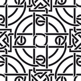 Celtic seamless pattern Stock Image