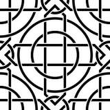 Celtic seamless pattern Stock Photos