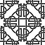 Celtic seamless pattern. The vector image Celtic seamless pattern Royalty Free Stock Photo
