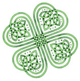 celtic shamrock Royaltyfria Foton