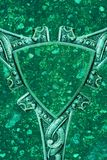 Celtic shield Royalty Free Stock Photography