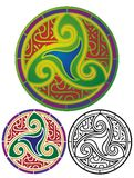 Celtic Shield Stock Images