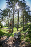 Celtic shrine at Havranok - Slovakia Royalty Free Stock Photography