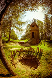 Celtic shrine at Havranok - Slovakia Stock Image