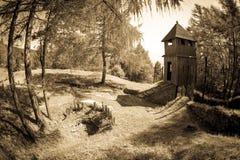 Celtic shrine at Havranok - Slovakia. Celtic shrine at open-air museum Havranok - Slovakia stock images