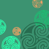 Celtic sign design symbol element abstract knot icon tatt Stock Photography