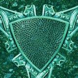 celtic sköld royaltyfri bild