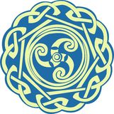 Celtic Spiral Royalty Free Stock Images