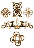 Celtic spirals Stock Photos