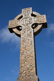 Celtic Stone cross Stock Photo