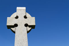 Celtic Stone Cross Stock Photos