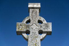 Celtic stone cross Royalty Free Stock Photography