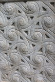 Celtic stone ornament. In close up Stock Photography