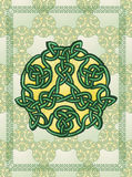 Celtic Style Background Royalty Free Stock Photo