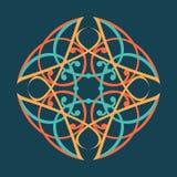 Celtic Style Mandala Royalty Free Stock Photography