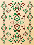 Celtic Style Ornament Royalty Free Stock Photo
