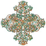 Celtic Style Ornament stock photo