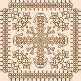 Celtic Style Ornament Stock Photo