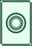 Celtic Style Ornament Stock Image