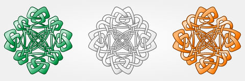 Celtic Style Ornaments Royalty Free Stock Images