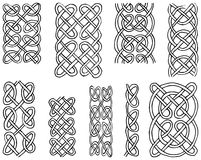 Celtic Style patterns Royalty Free Stock Images